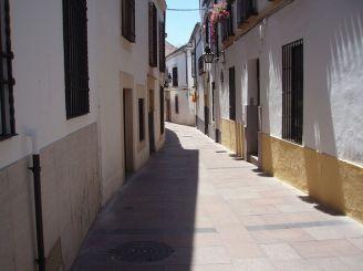 Juderia. Jewish quarter in Cordoba